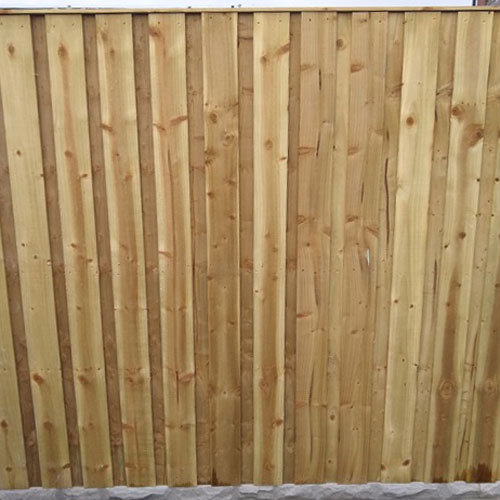 Double-Lap Fence Panels