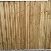 Double-Lap Fence Panels